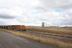 BNSF 6304 Loading at Coal Creek Mine